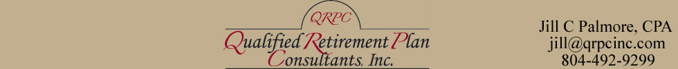 qualified retirement plan consultants